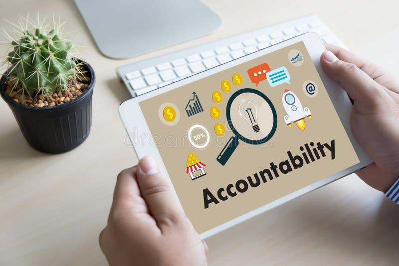 Odpowiedzialność Savings konta pieniądze Globalny finanse kalkuluje t ilustracji