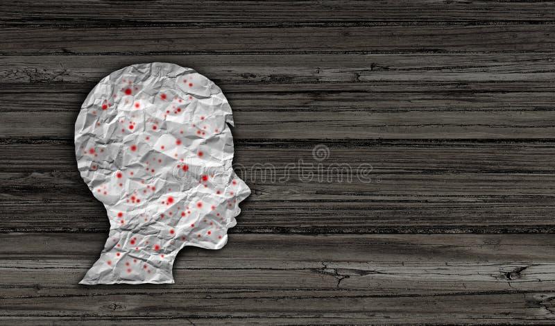 Odry choroby diagnoza ilustracji