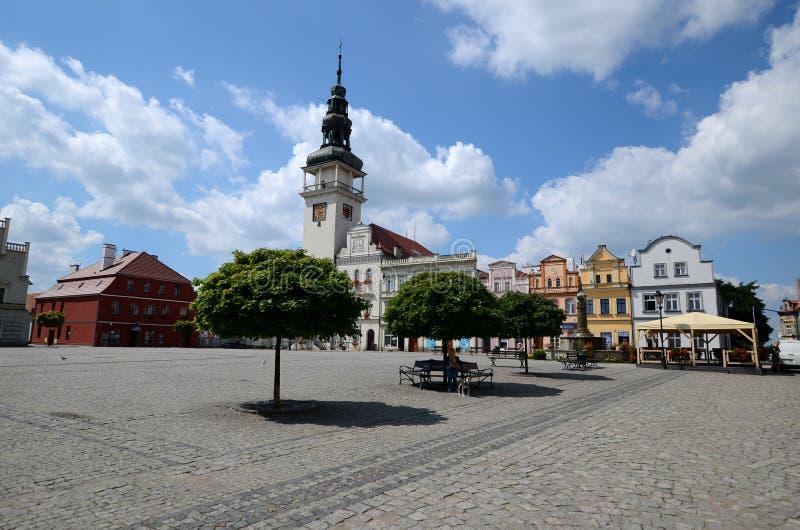 Odrzanski Bytom i Polen royaltyfria foton