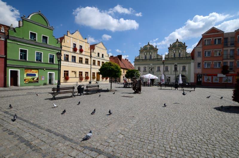Odrzanski Bytom i Polen royaltyfri fotografi
