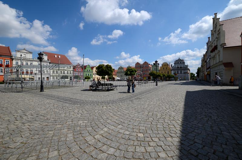 Odrzanski Bytom in Polen stockbilder