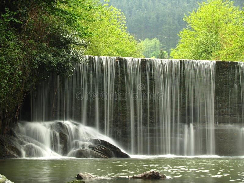 odrzutowiec sceniczna wodospadu zdjęcia stock