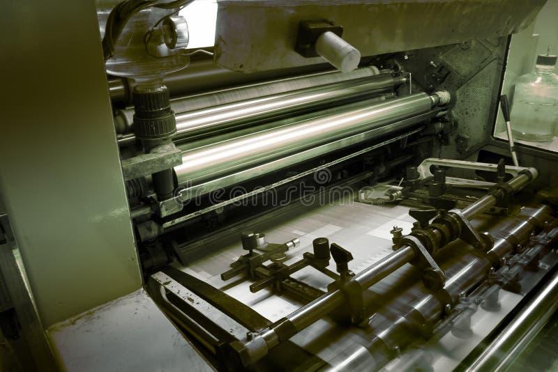 odsadzka maszynowy druk zdjęcie royalty free