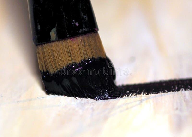 odszukany uderzenie abstrakcjonistyczna szczotkarska malująca istna tekstura był obraz stock