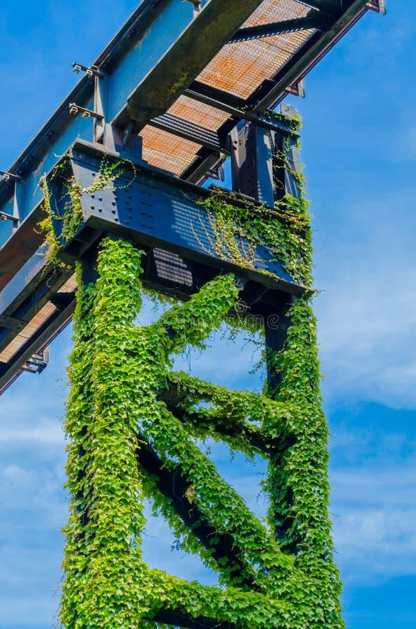 Odwiedza Krajobrazowego Parkowego Duisburg zdjęcia stock