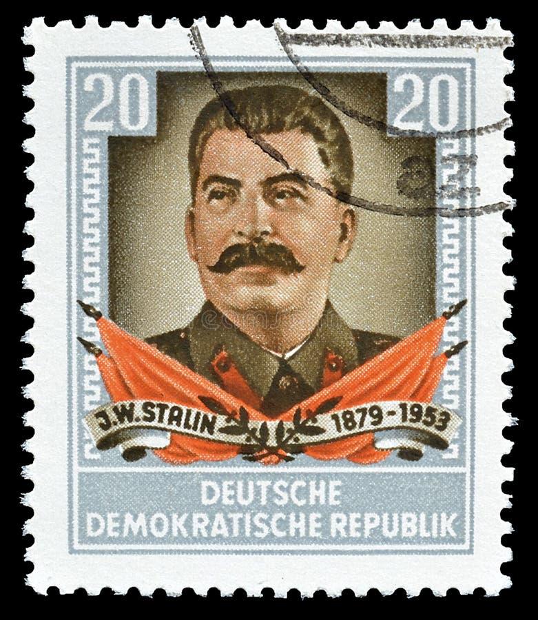 Odwoływający znaczek pocztowy drukujący Niemcy obrazy stock
