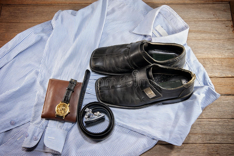 Odzież biznesowy mężczyzna zdjęcia royalty free