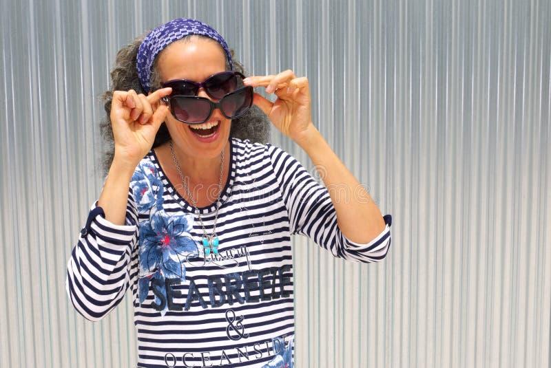 Odzież okulary przeciwsłoneczni obraz royalty free