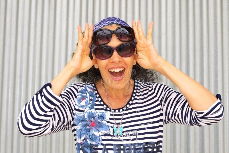 Odzież okulary przeciwsłoneczni obrazy stock
