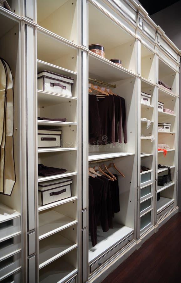 odzieżowa garderoba obrazy stock