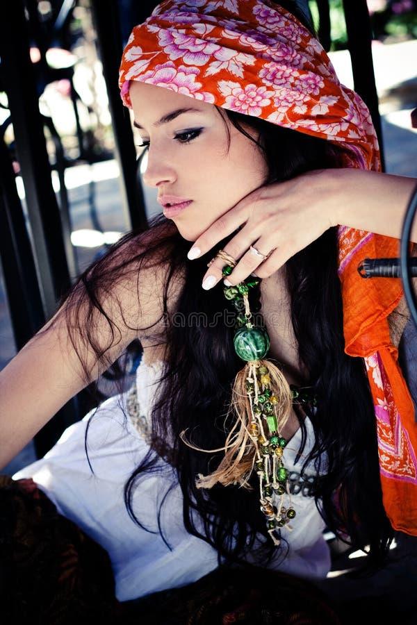 odzieżowa orientalna kobieta zdjęcia royalty free