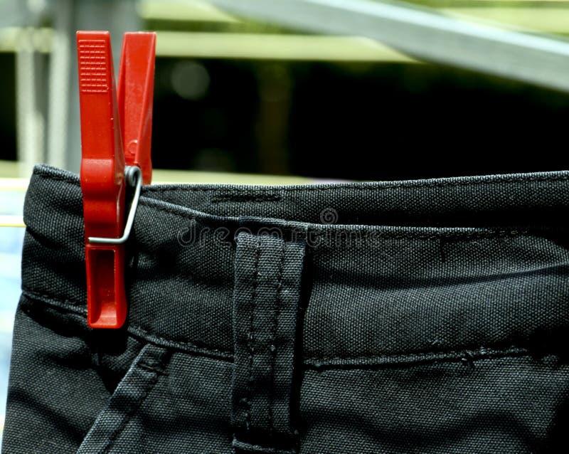odzieżowej obrotowego suszarek krótki zdjęcia stock