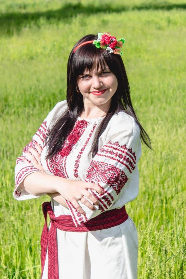 odzieżowy dziewczyny obywatela ukrainian zdjęcie stock