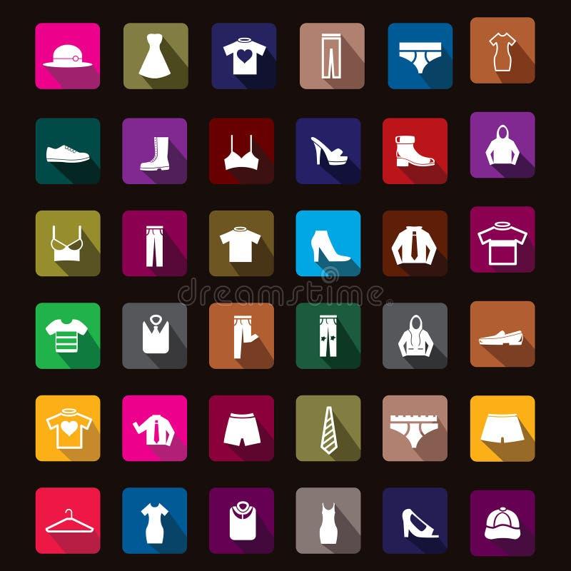 Odzieży ikona royalty ilustracja