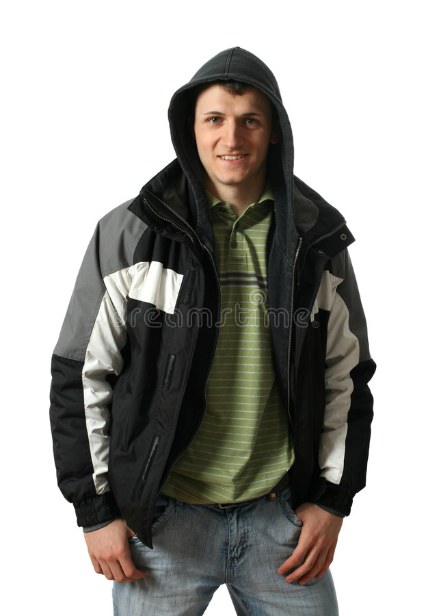 odziewa mężczyzna zima potomstwa obrazy stock