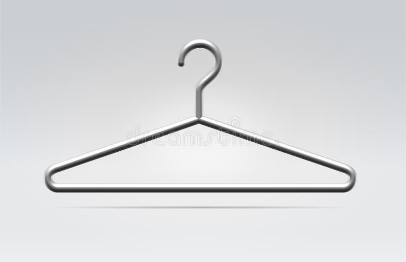odziewa mody wieszaka ikonę ilustracja wektor