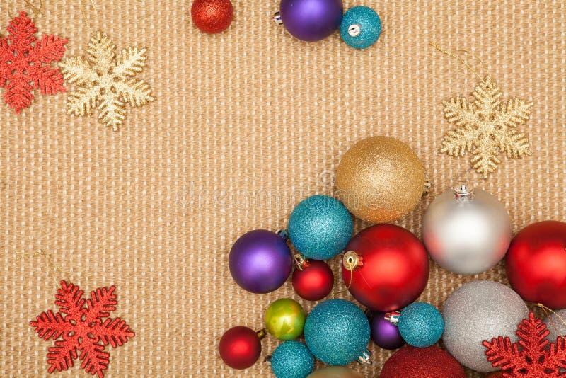 Odznaczenie świątecznego choinki na imprezę i uroczystość zdjęcie stock