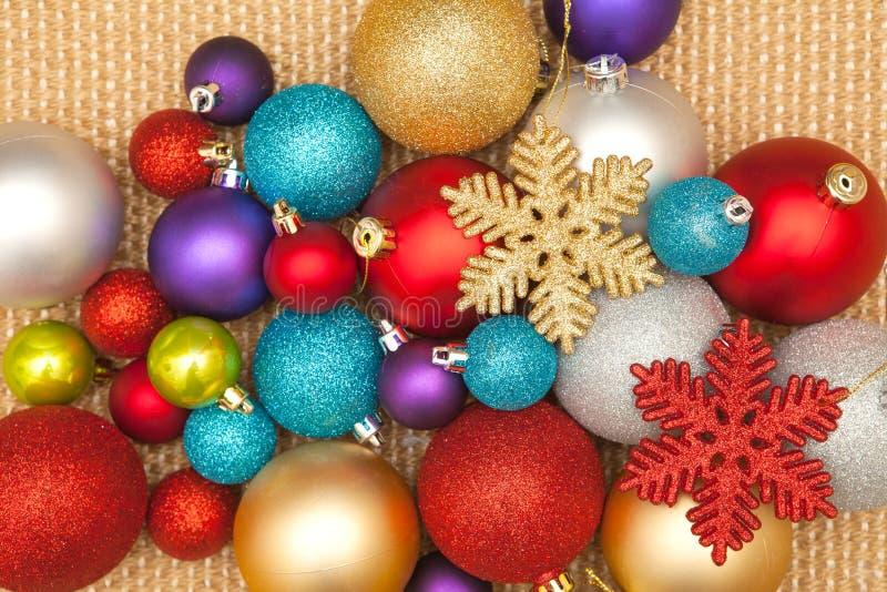 Odznaczenie świątecznego choinki na imprezę i uroczystość fotografia stock