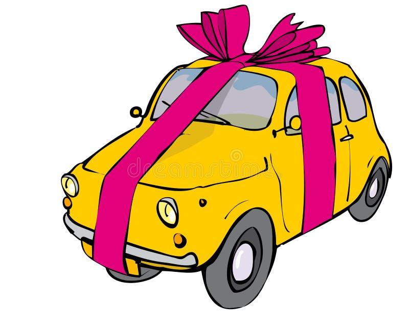 odznaczony samochód ilustracji