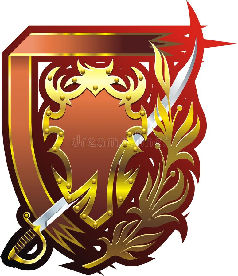 Odznaka royalty ilustracja