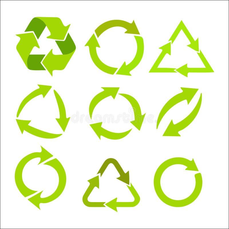 Odznaka organicznie produkty ilustracja wektor