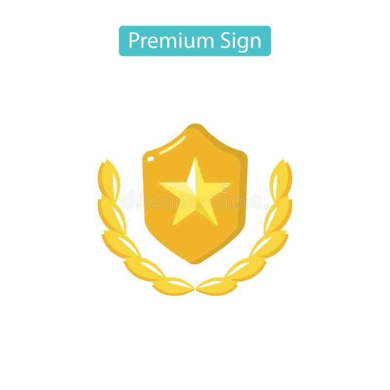 Odznaka wektoru ikona royalty ilustracja