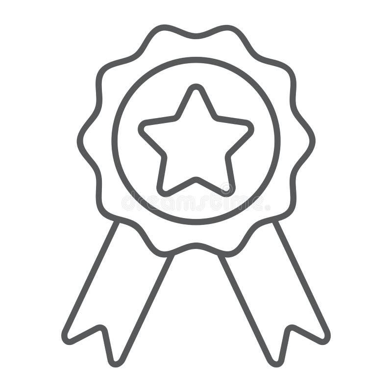 Odznaka z faborkami cienieje kreskową ikonę, e handel ilustracji