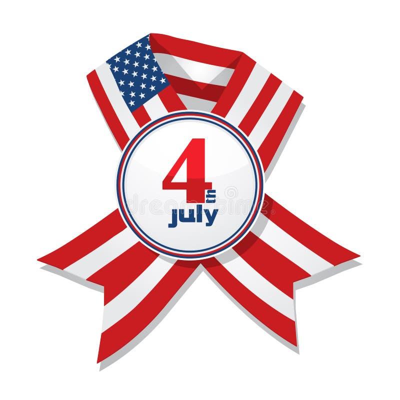 odznaki dzień niezależność ilustracji