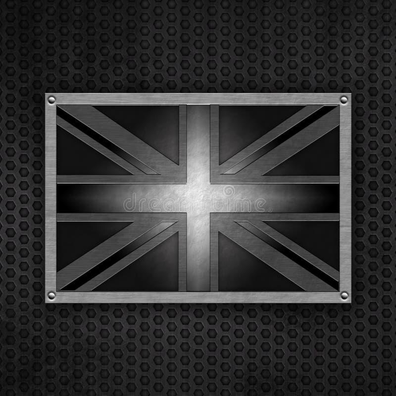 odznaki grunge dźwigarki zjednoczenie ilustracji