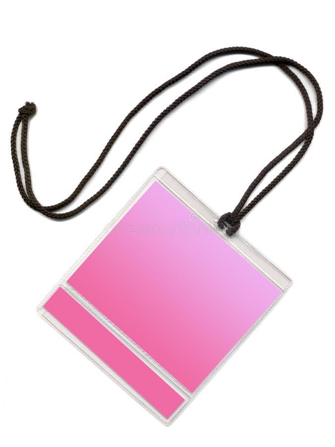 odznaki kopii różowego przestrzeni fotografia royalty free