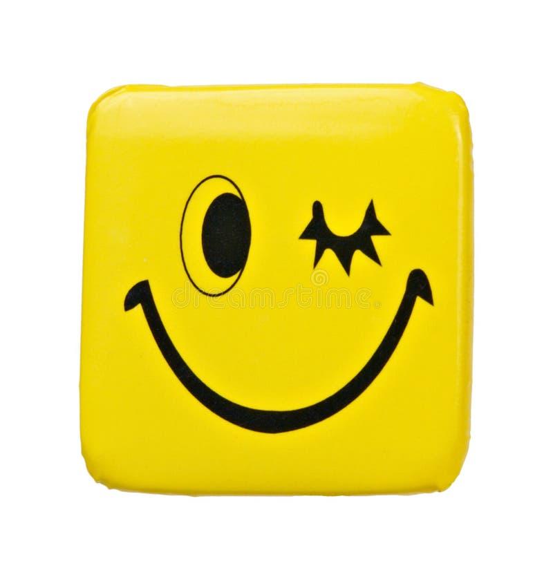 odznaki uśmiechu mrugnięcie obrazy royalty free