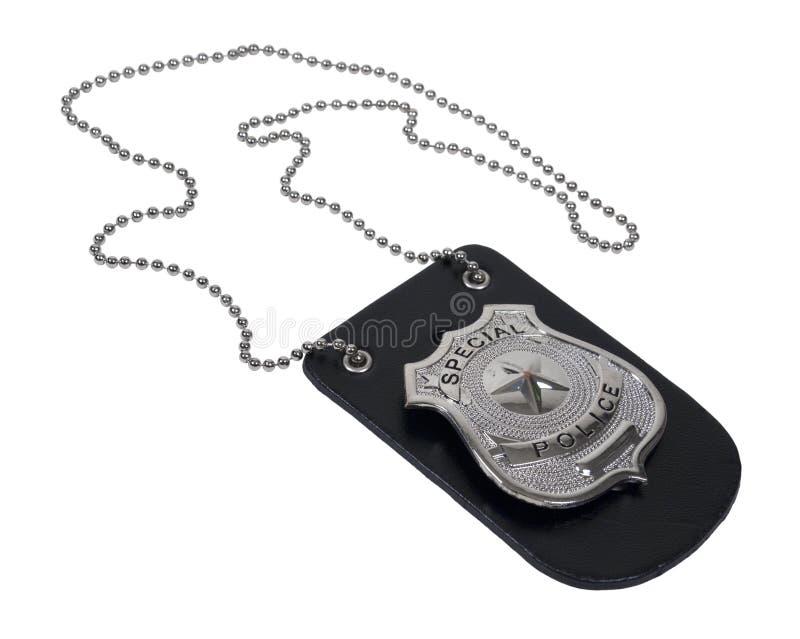 odznaki właściciela skóry policja zdjęcie stock