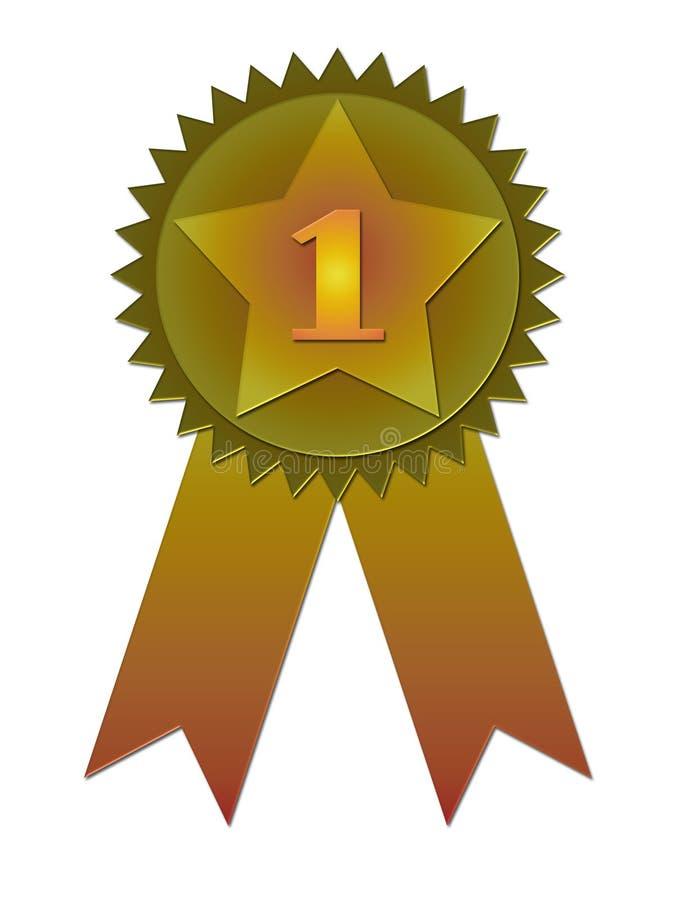 odznaki wstążkę nagrody ilustracja wektor