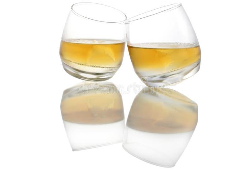 odzwierciedlenie whisky. zdjęcie royalty free