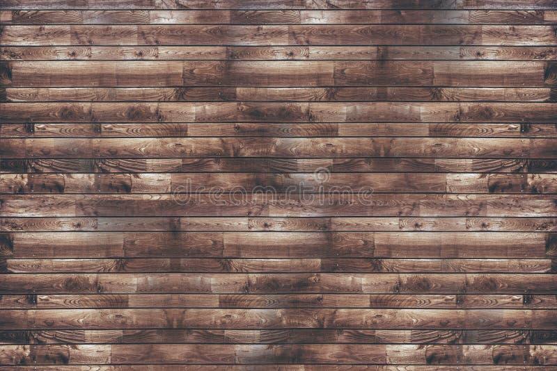 Odzyskująca drewno desek ściana fotografia royalty free