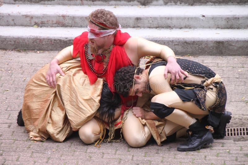 Oedipus Rex immagini stock libere da diritti