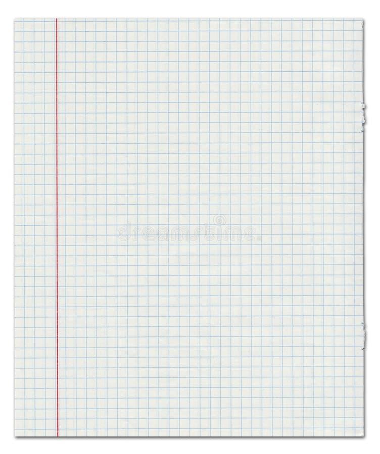 Oefenboek in een kooi stock illustratie