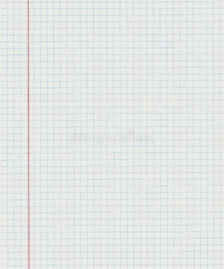 Oefenboek in een kooi vector illustratie
