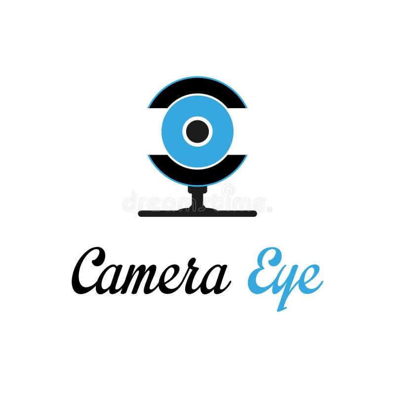 Oeil d'appareil-photo illustration libre de droits