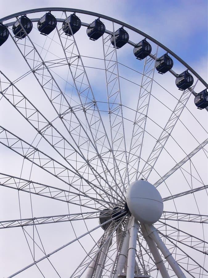 Download Oeil de Birmingham photo stock. Image du roue, acier, touriste - 77472