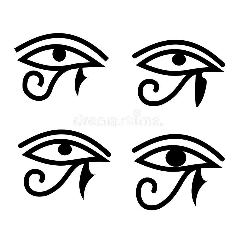 Oeil de Horus illustration stock