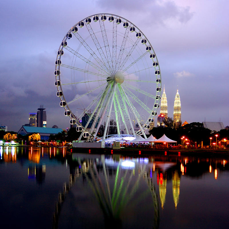 Oeil de la Malaisie photo libre de droits