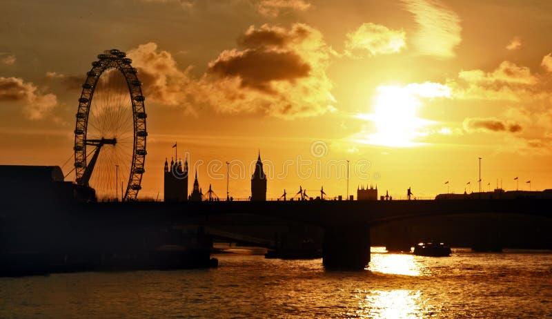 Oeil de Londres à Londres photographie stock libre de droits