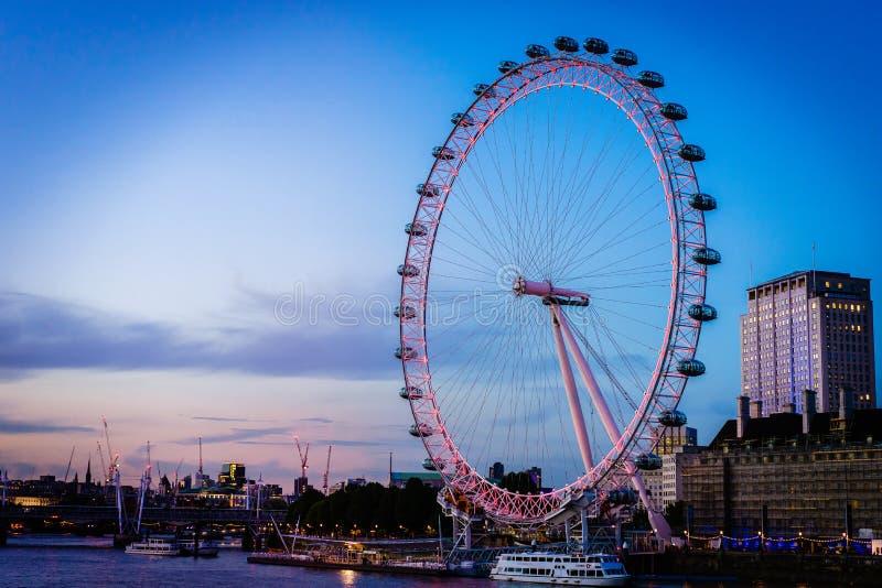 Oeil de Londres photographie stock