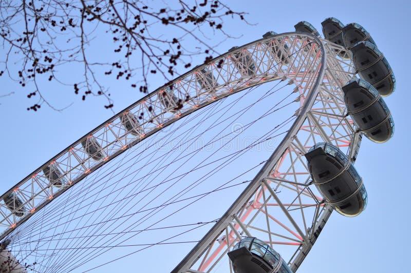 Oeil de Londres de la terre photos stock
