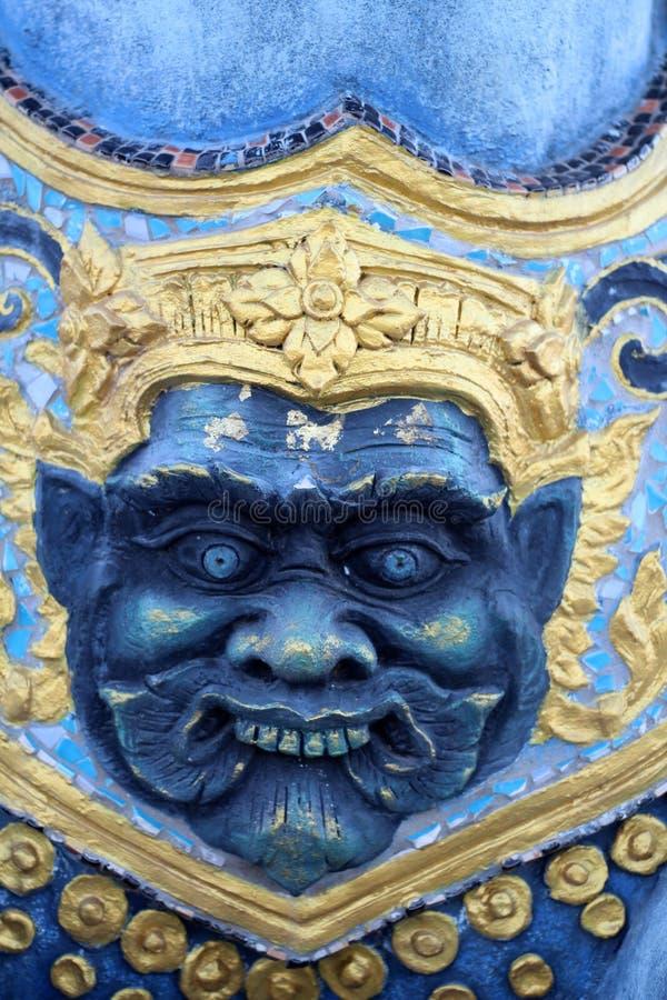 Oeil de statues géantes troisième images stock