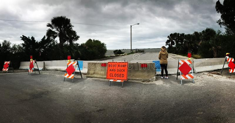 Oeil du cyclone photographie stock libre de droits