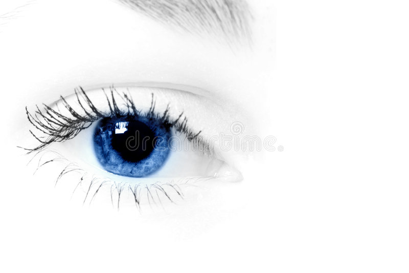 Oeil humain images stock