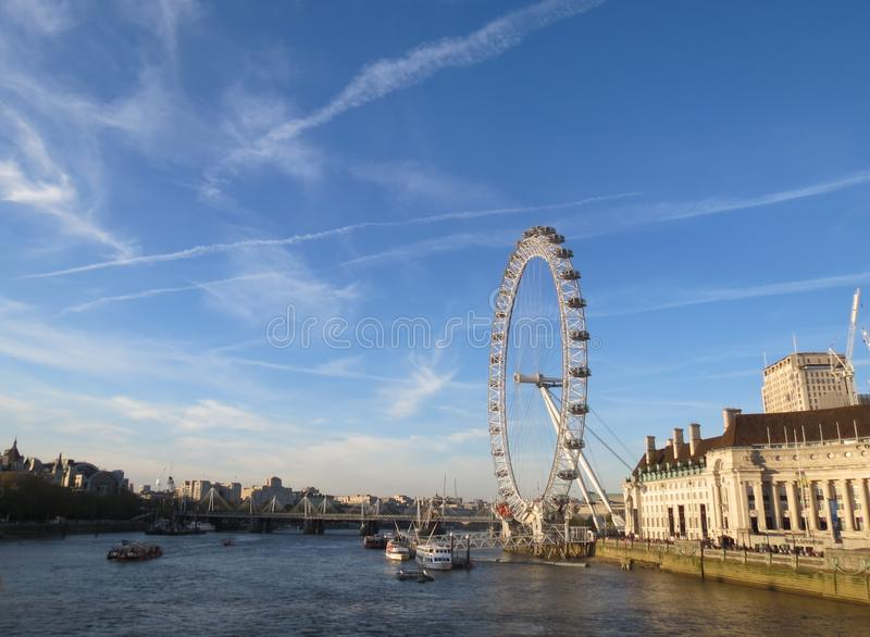 oeil Londres image stock