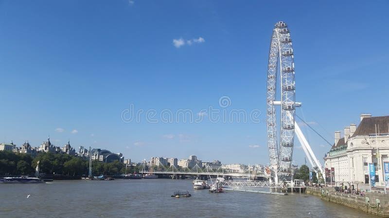 oeil Londres photo stock